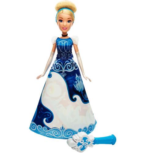 Papusa Disney Princess Cenusareasa Cu Rochie Magica