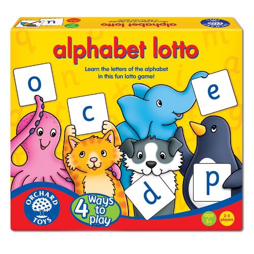 Orchard Toys Joc Educativ Loto in Limba Engleza Alfabetul