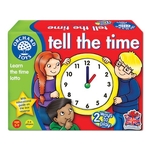 Orchard Toys Joc Educativ Loto in Limba Engleza Citeste Ceasul
