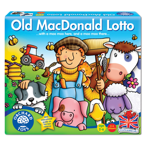 Orchard Toys Joc Educativ Loto Old MacDonald