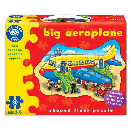 Orchard Toys Puzzle de Podea Avion 30 Piese