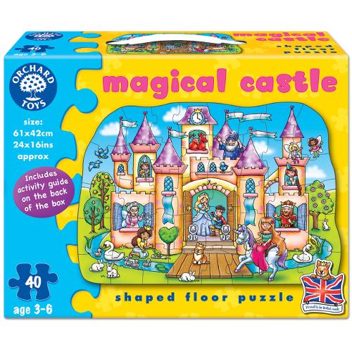 Puzzle de Podea Castelul Magic 40 Piese