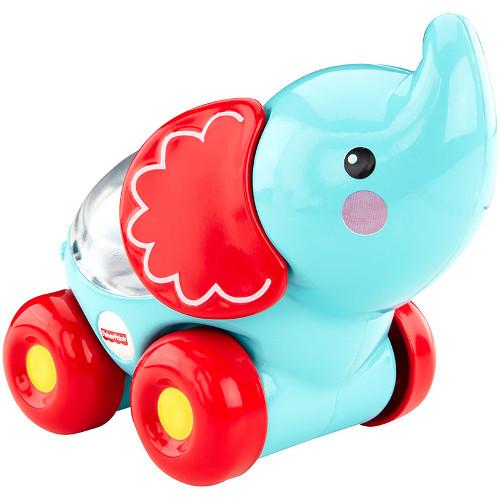 Fisher-Price Vehicul Elefant Apasa si Invata