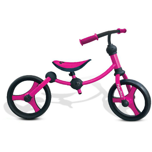 Bicicleta 2 in 1 fara Pedale Running Bike Roz