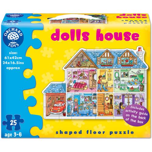 Orchard Toys Puzzle de Podea Casuta de Papusi 25 Piese