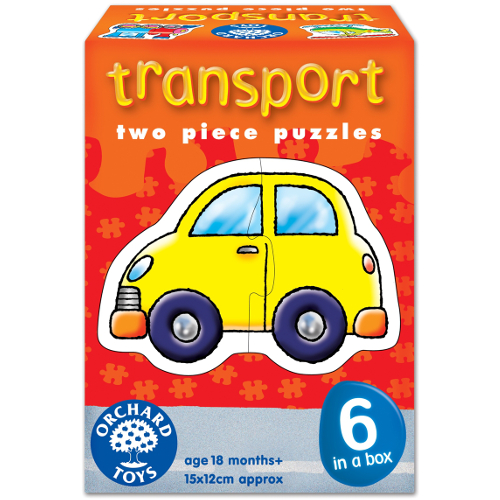 Orchard Toys Set 6 Puzzle Transport
