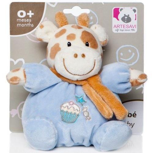 Artesavi Plus Bebe Girafa 15 cm cu Zornaitoare