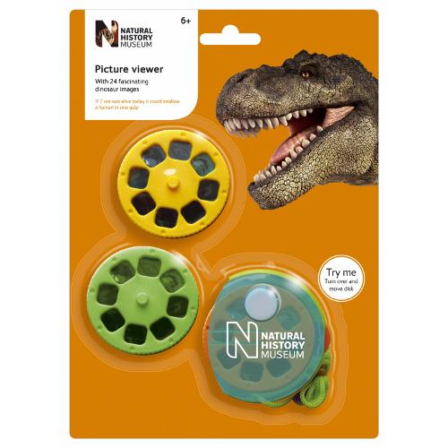 Aparat de Vizualizat Diapozitive cu Dinozaur