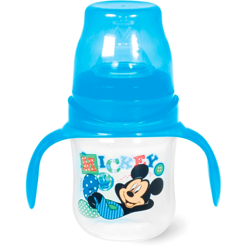 Biberon cu Maner 120 ml Mickey