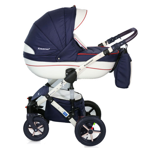 Carucior 3 in 1 Poema Navy
