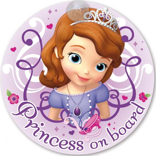 Semn de Avertizare Princess on Board Sofia