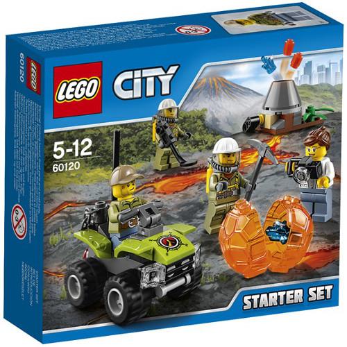 City - Vulcanul - Set pentru Incepatori 60120