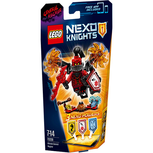LEGO NEXO KNIGHTS- Supremul General Magmar 70338