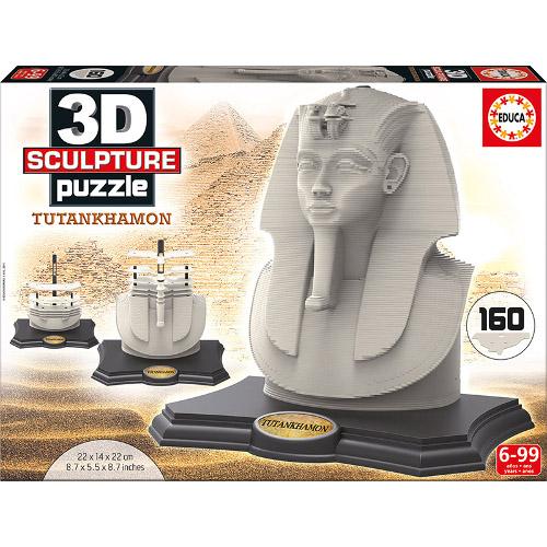 Sculptura 3D Tutankhamon 160 Piese