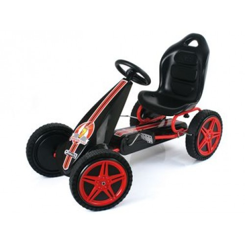 Hauck Go Kart Hurricane Red