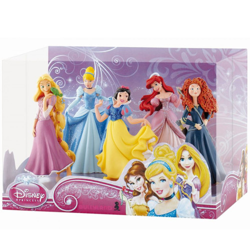 Set 5 Figurine Printese Disney