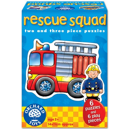Orchard Toys Set 6 Puzzle Echipa de Salvare