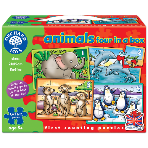 Orchard Toys Set 4 Puzzle Animale