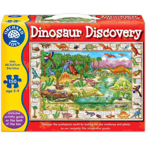 Orchard Toys Puzzle Lumea Dinozaurilor 150 Piese