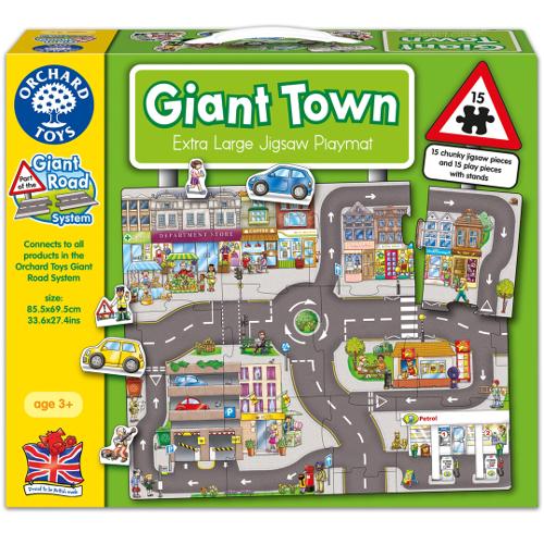 Puzzle Gigant de Podea Orasul 15 Piese