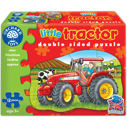 Orchard Toys Puzzle Fata Verso Tractor 12 Piese