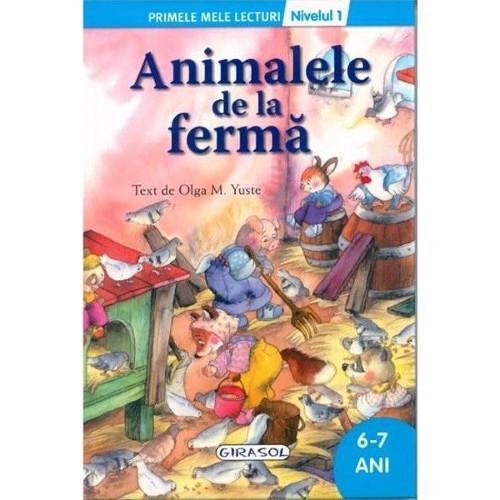 Primele Mele Lecturi Nivelul 1 - Animale de la Ferma