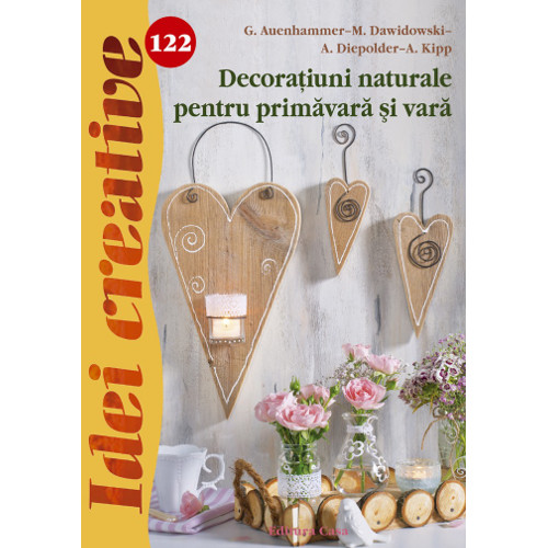 Decoratiuni Naturale pentru Primavara si Vara 122 - Idei Creative