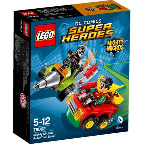 LEGO Super Heroes Mighty Micros: Robin vs. Bane 76062