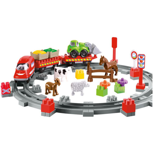 Set Constructii Abrick Country Train thumbnail