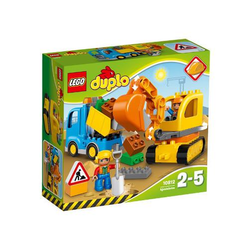 LEGO DUPLO Camion si Excavator pe Senile 10812