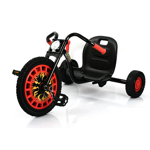 Go Kart Typhoon Black Red