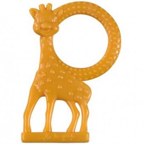 Inel Dentitie cu Aroma de Vanilie Girafa Sophie Orange