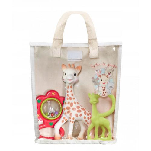 Vulli Set Cadou Saculet Girafa Sophie
