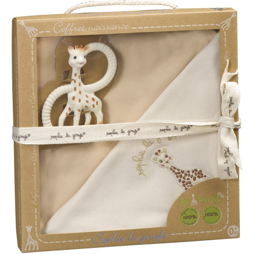 Set pentru Nou-Nascuti Bio So Pure Girafa Sophie