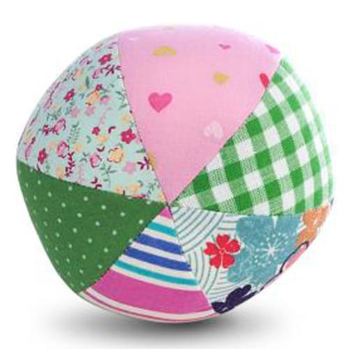 Jucarie Textila Pink Ball