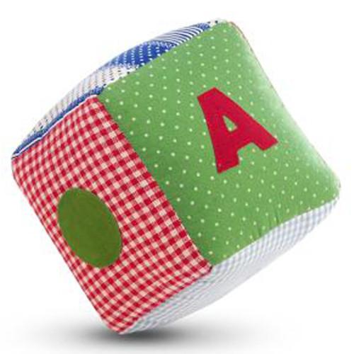 Jucarie Textila Red Cube
