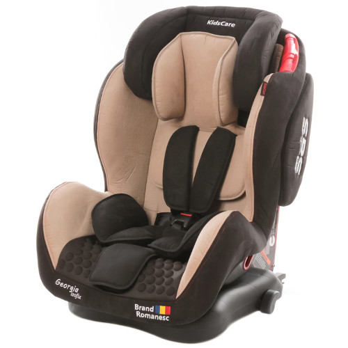 Scaun Auto Georgia cu Isofix Top Tether Bej