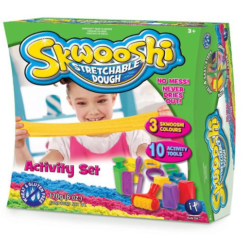 Irwin Toy Set Activitati cu Plastilina Skwooshi