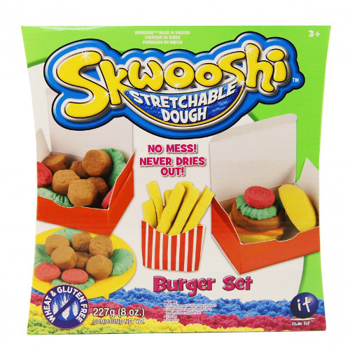 Irwin Toy Plastilina Skwooshi – Set Burger