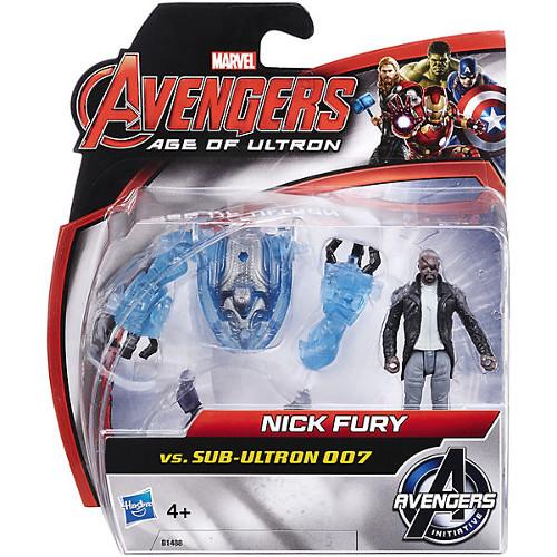 Mini Figurine Avengers - Nick Fury vs Sub-Ultron 007