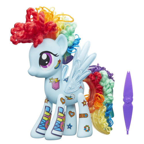 Set Accesorizeaza-ti Poneiul - Rainbow Dash