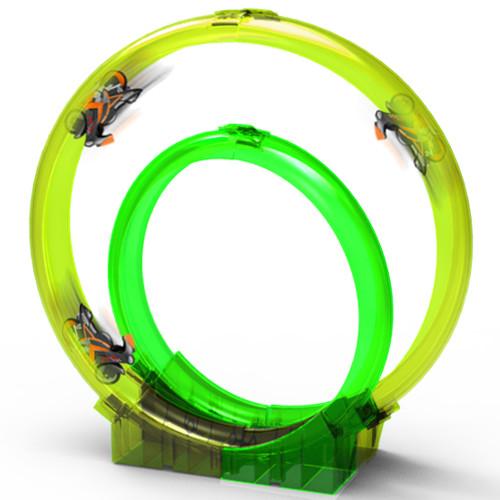 Viteza pe 2 Roti - Set Circular 2 Bucle cu Motor