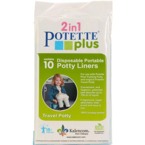 Pungi Biodegradabile de Unica Folosinta pentru Potette Plus - 10 buc/set