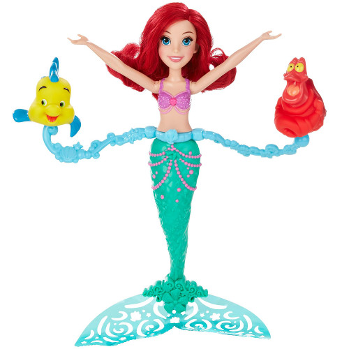 Papusa Disney Princess Ariel Spin And Swim