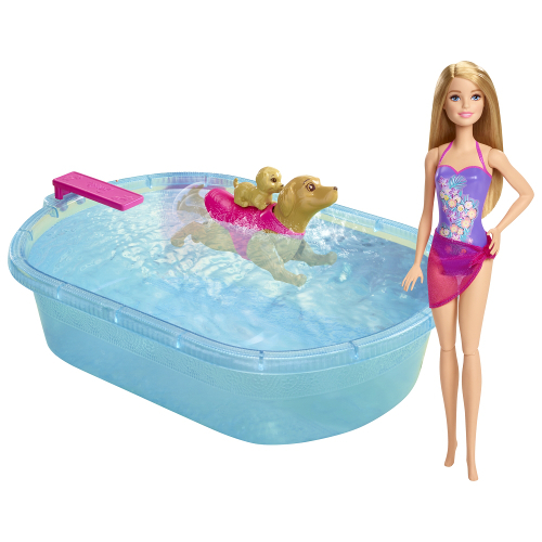 Papusa Barbie cu Catel si Cadita