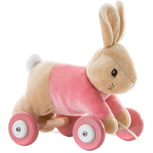 Flopsy Rabbit - Jucarie din Plus cu Roti