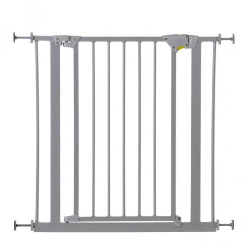 Hauck Poarta Siguranta Trigger Lock Safety Gate Silver 75-81 cm