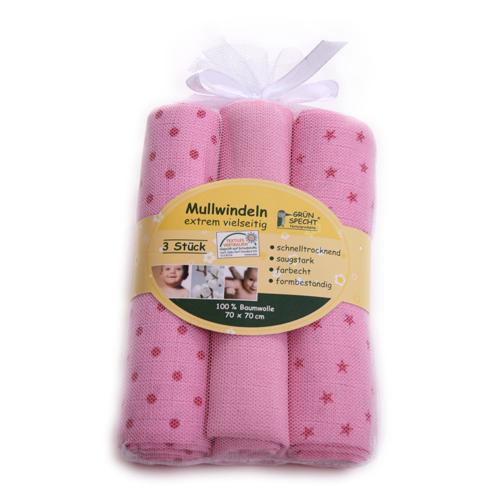 Servetele de Bumbac 70x 70 cm Roz