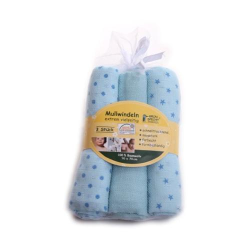 Servetele de Bumbac 70x 70 cm Bleu