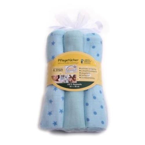 Servetele de Bumbac 30 x 30 cm Bleu